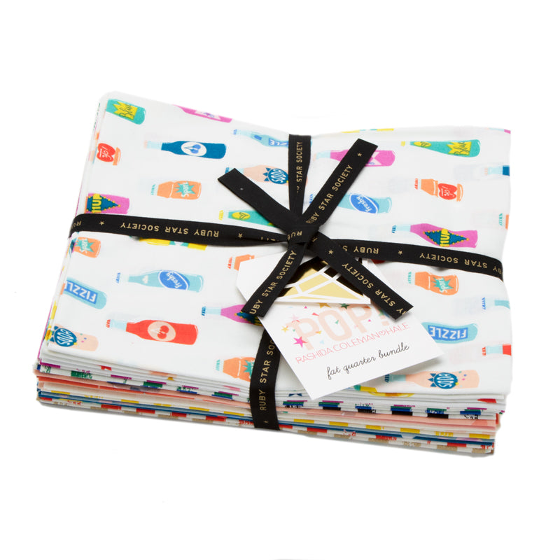 Pop! - Fat Quarter Bundle | Quilting Cottons