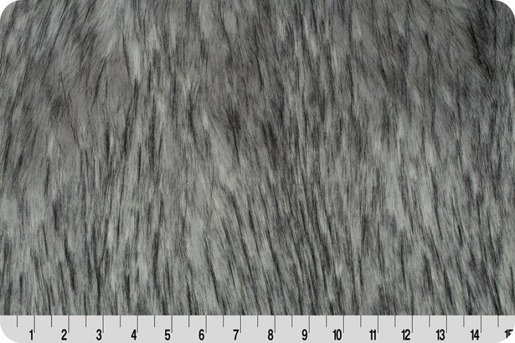 Norwegian Fox Fur Pearl - Steel