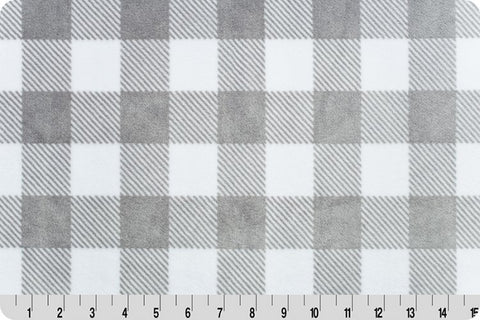 Buffalo Check Cuddle - Grey/White