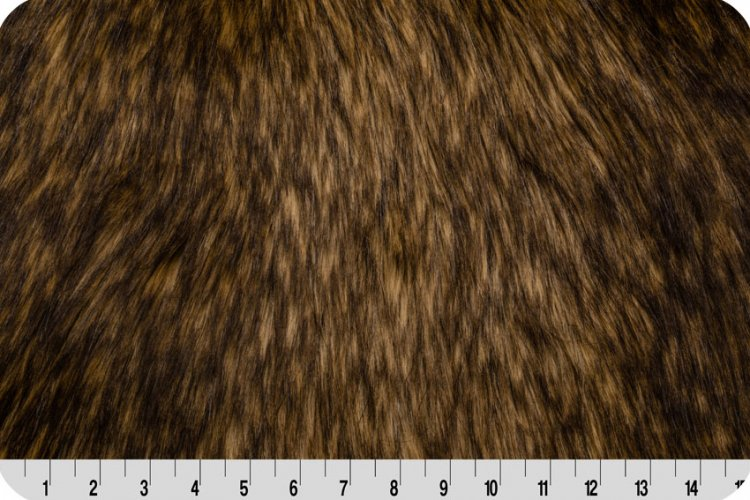 Golden Wolf Fur - Gold/Brown
