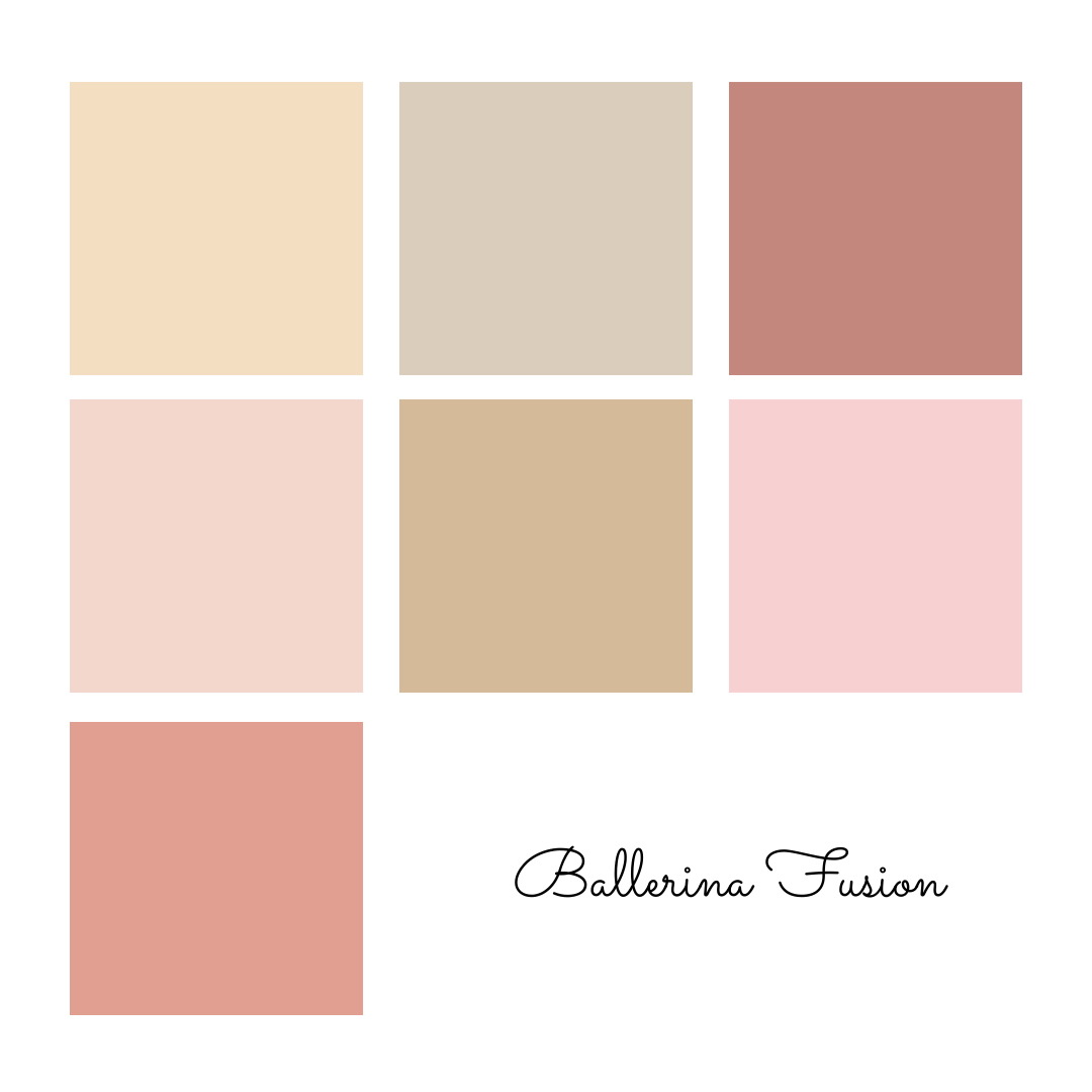 Ballerina Fusion - Solids Bundle