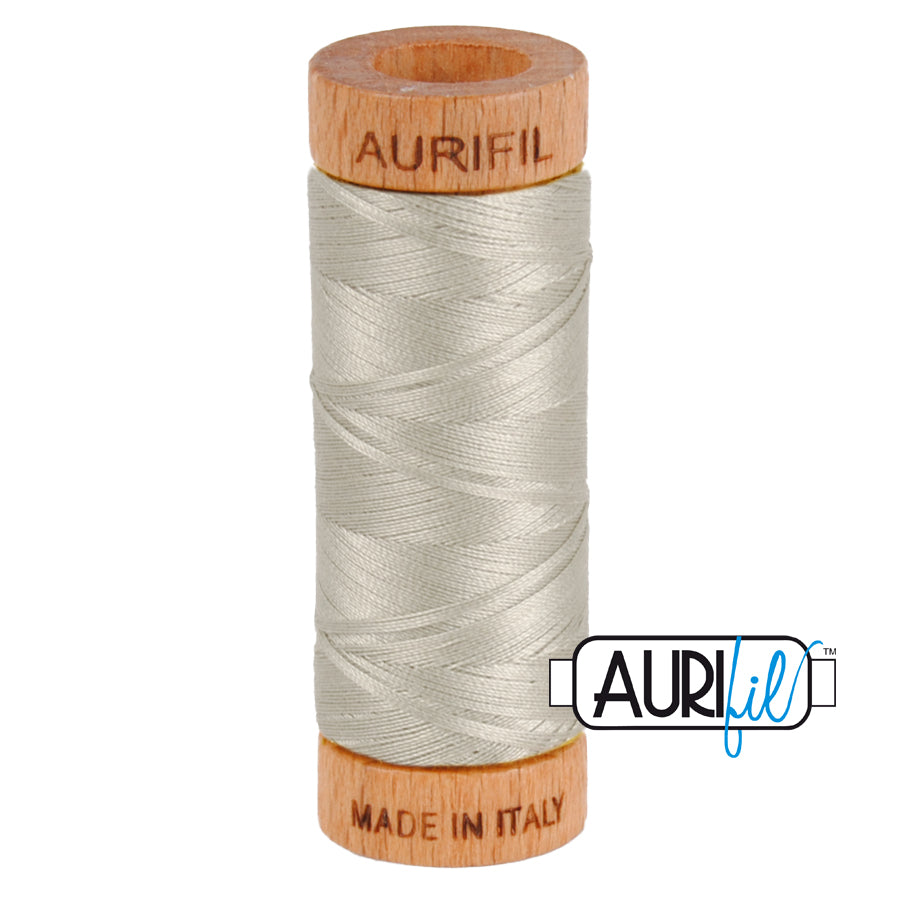Aurifil 80wt - Light Grey