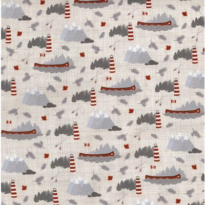 True North - Canoes Linen