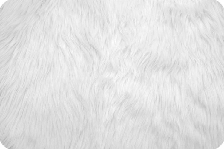 Luxury Shag Fur - White