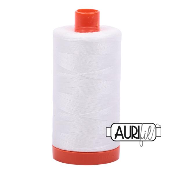Aurifil 50wt - Natural White