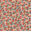 Les Fleurs - Rosa - Peach - Thread Count Fabrics - Cotton + Steel