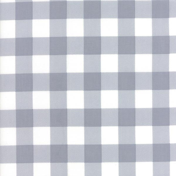 Buffalo Check Flannel - Grey/White