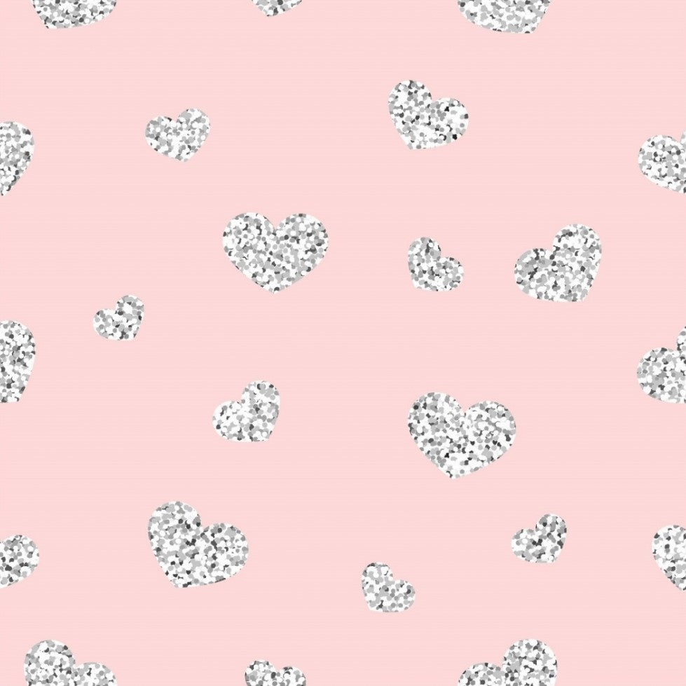 Heart - Pink (metallic) | Knit