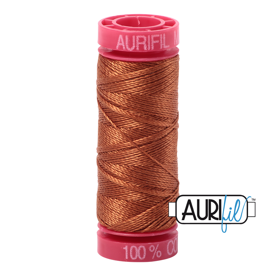 Aurifil 12wt - Cinnamon | Small Spool