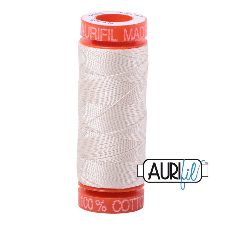 Aurifil 50wt - Light Sand | Small Spool