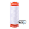 Aurifil 50wt - White | Small Spool