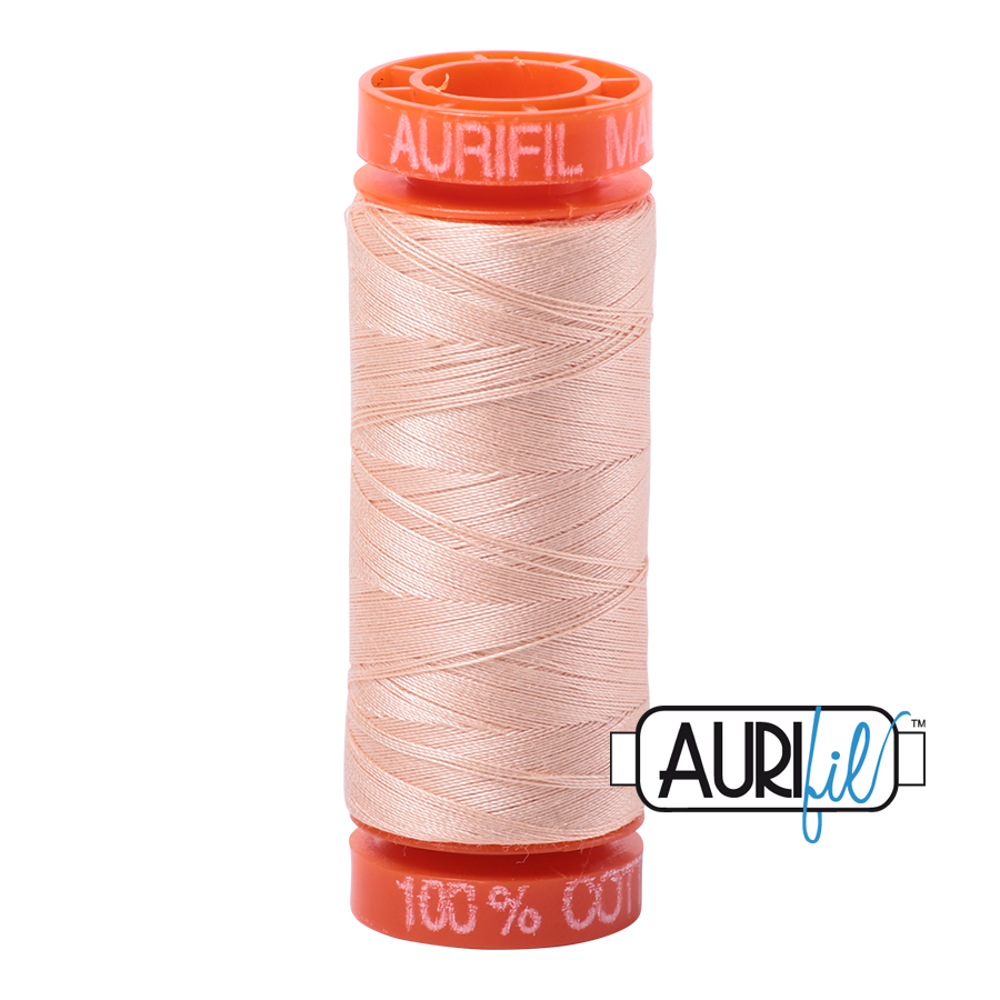 Aurifil 50wt - Flesh | Small Spool