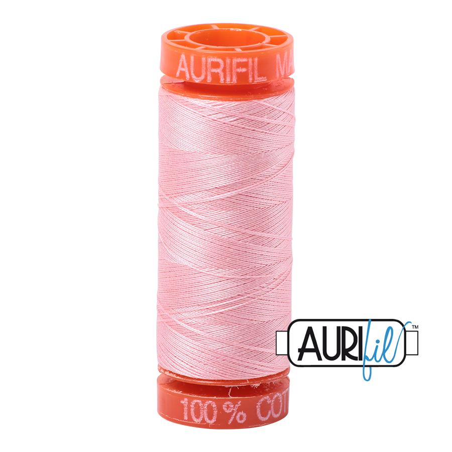 Aurifil 50wt - Blush | Small Spool