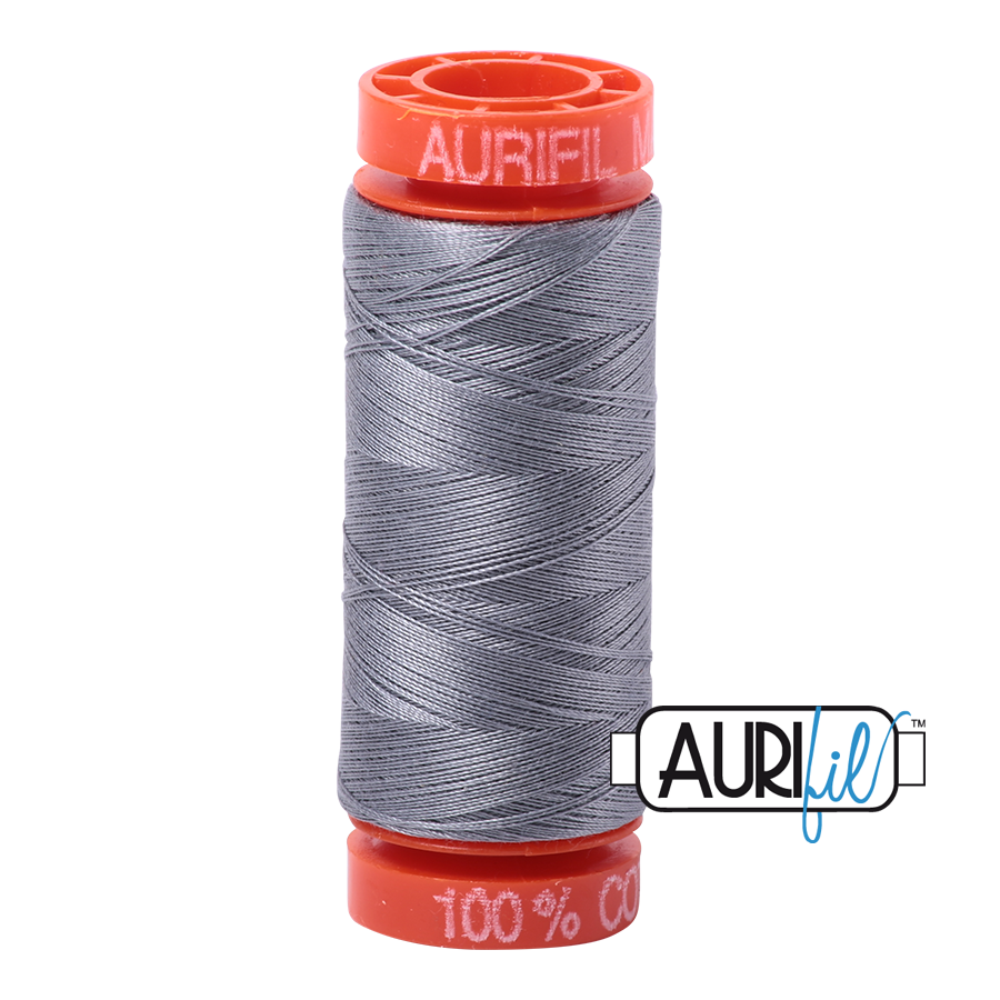 Aurifil 50wt - Grey | Small Spool
