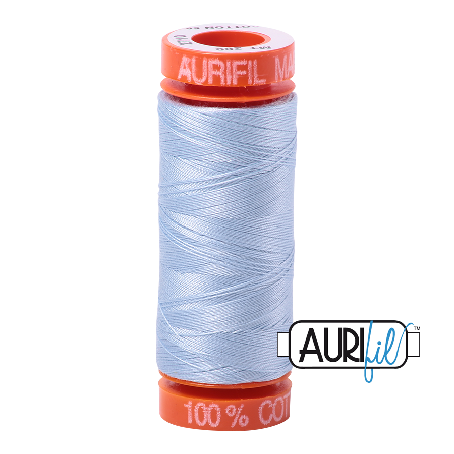 Aurifil 50wt - Light Robin Egg | Small Spool