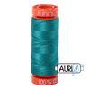 Aurifil 50wt - Jade | Small Spool