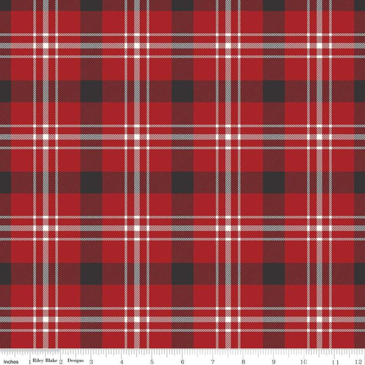 Into The Woods - Tartan Red