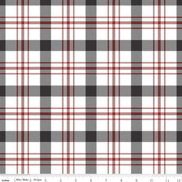 Into The Woods - Tartan White