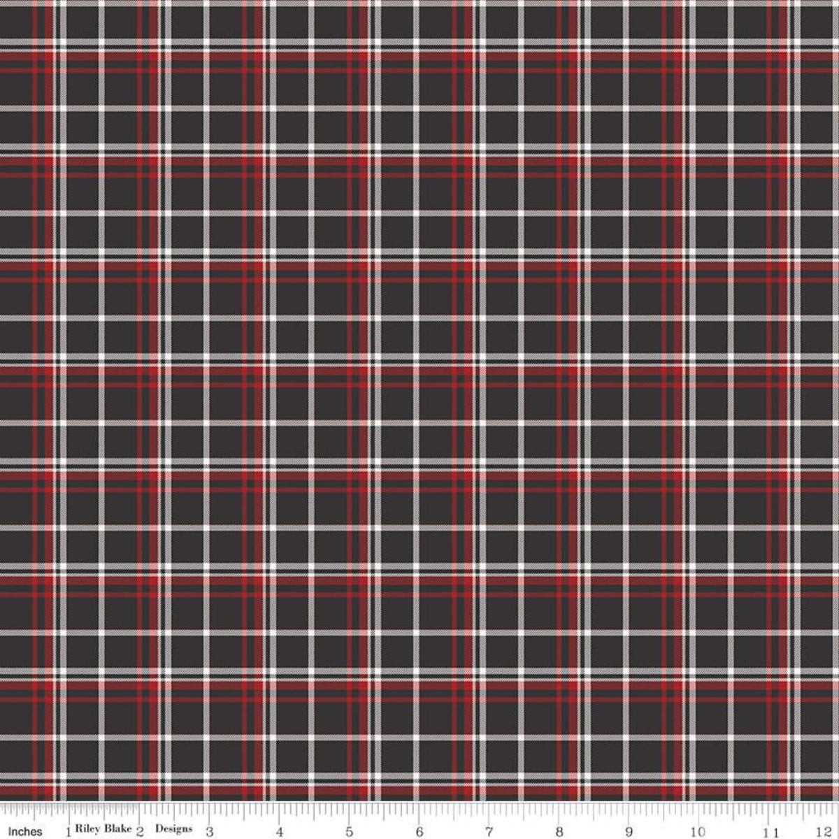 Into The Woods - Plaid Black