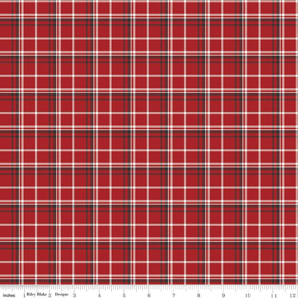 Into The Woods - Plaid Red