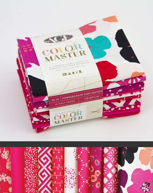 Color Master Bundle - Pomegranate Tart | Half Yard