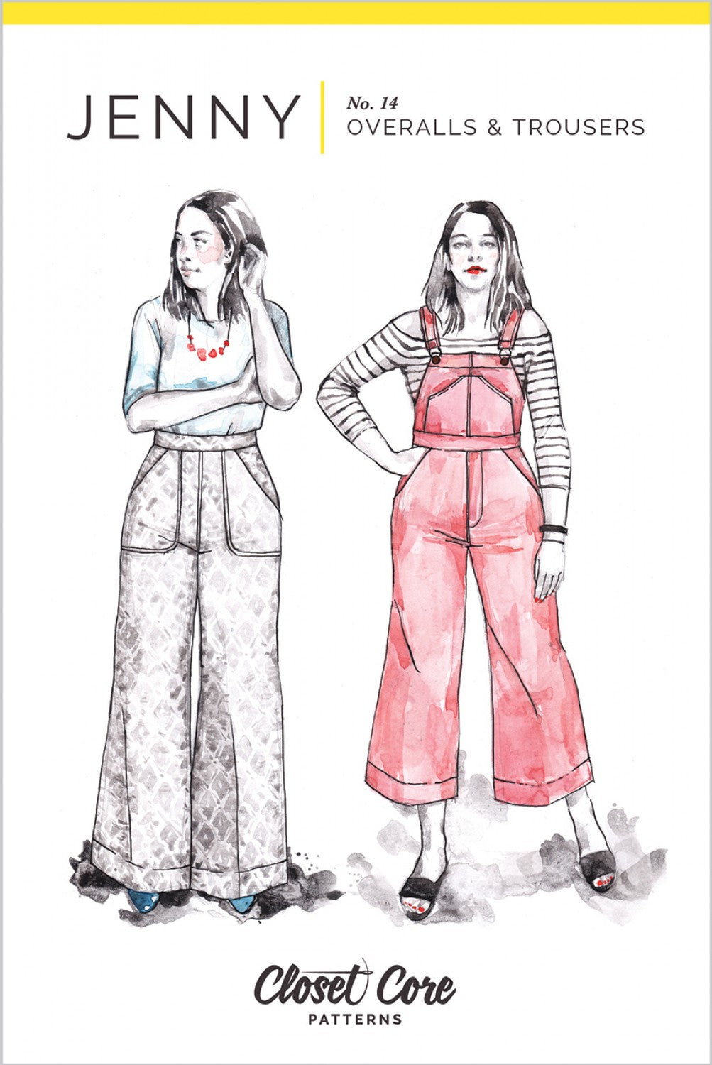 Jenny Overalls and Trousers Pattern