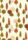 Katia - Leaves (Metallic) | Canvas