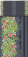 Decadence - Striped Fleur Paradis Panel