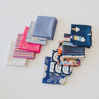 Art District Fusion - Fat Quarter Bundle | Quilting Cottons