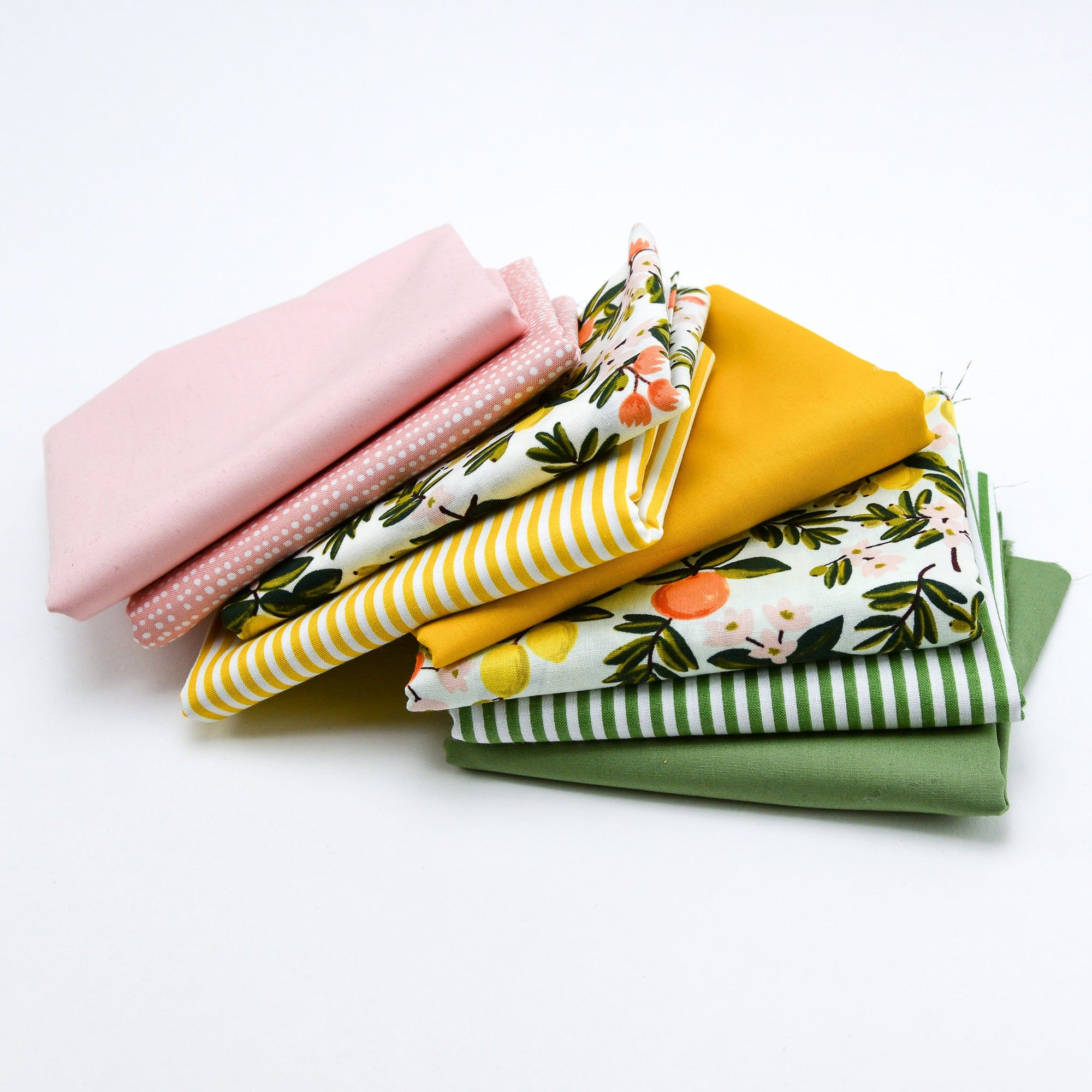 Lemonade - Fat Quarter Bundle | Quilting Cottons