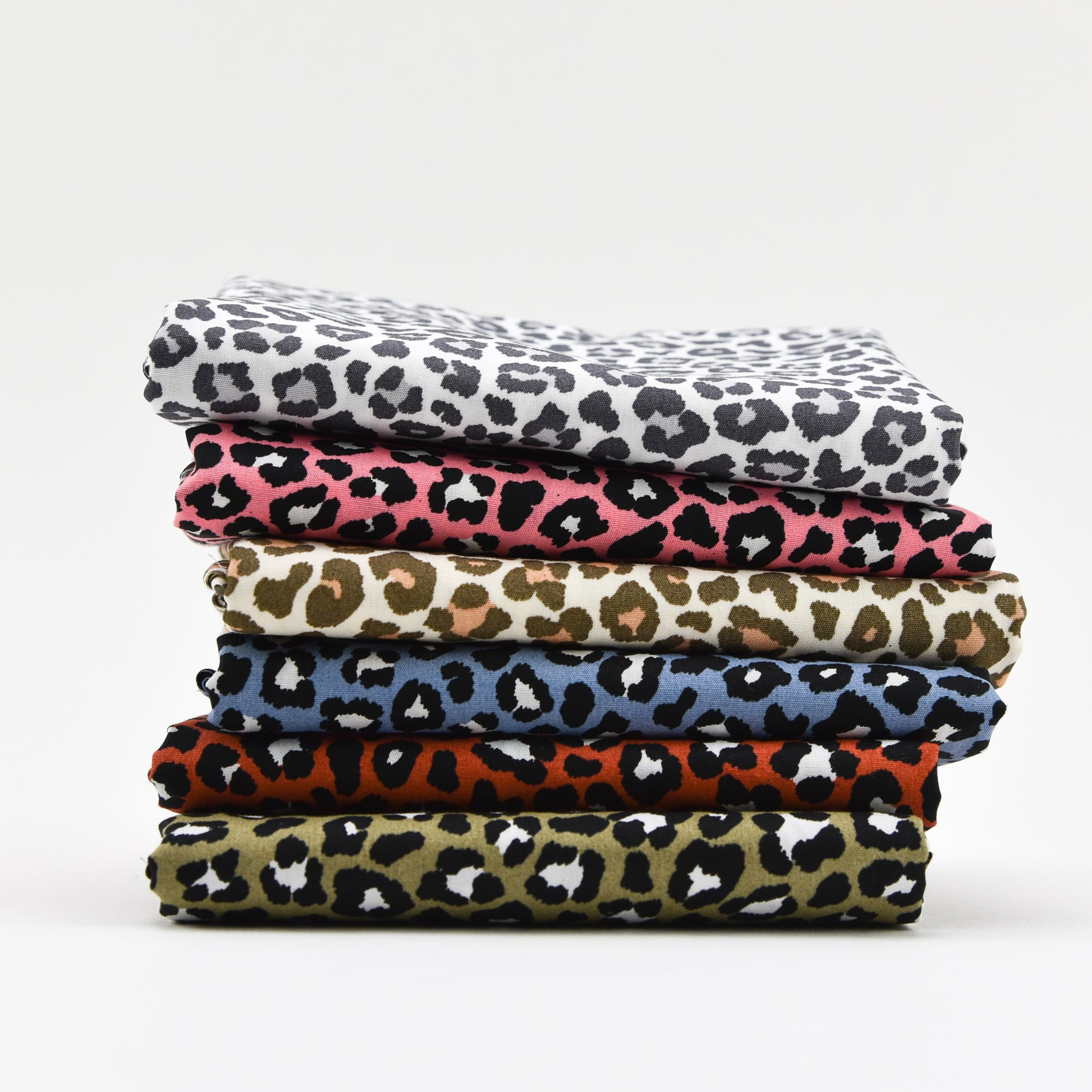 LEOPARD - FAT QUARTER BUNDLE | QUILTING COTTONS