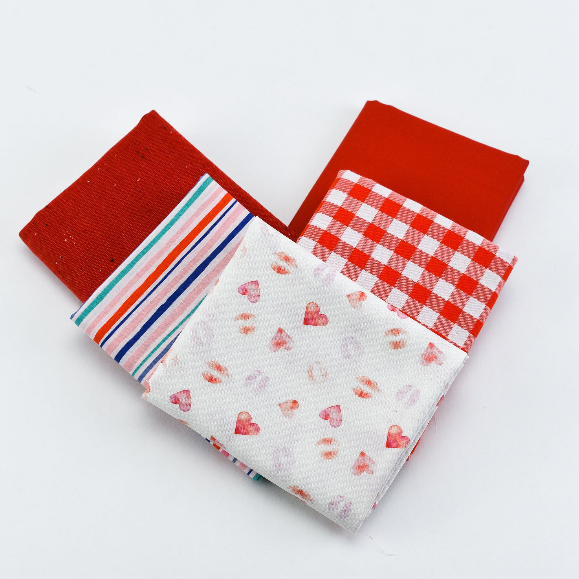Ruby Red - Fat Quarter Bundle | Quilting Cottons