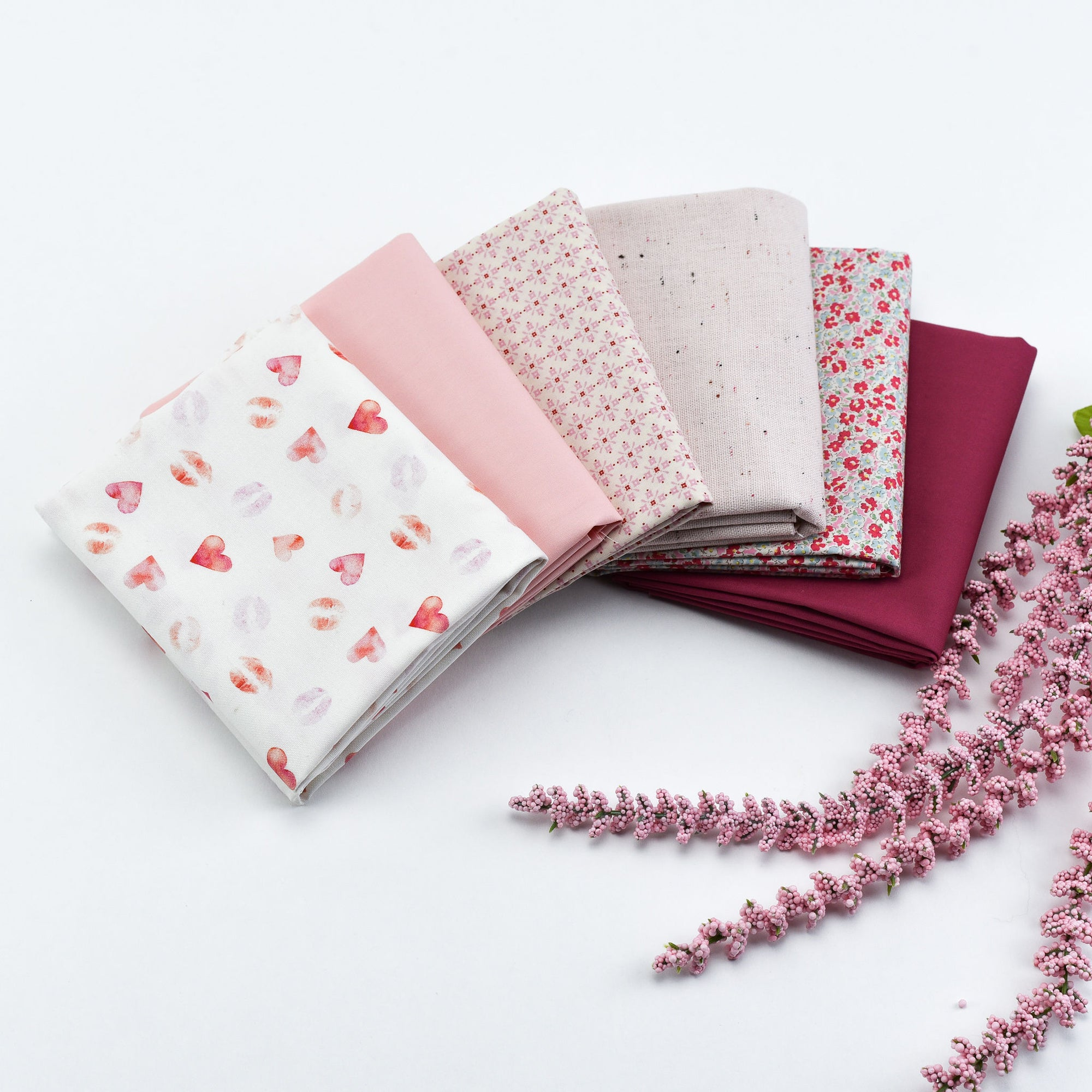Pretty in Pink - Fat Quarter Bundle | Quilting Cottons