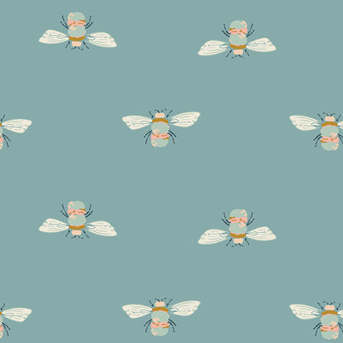 Garden Dreamer - Bumble Buzz - Thread Count Fabrics - Art Gallery Fabrics