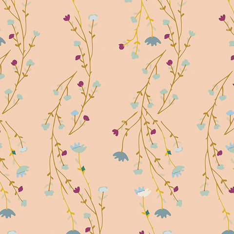 Garden Dreamer - Climbing Posies Blush - Thread Count Fabrics - Art Gallery Fabrics