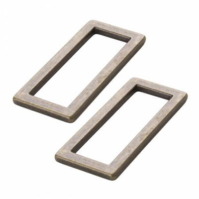 Rectangle Ring Flat 1-1/2in