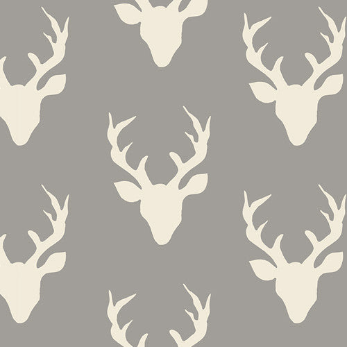 Hello, Bear - Buck Forest Mist Knit - Thread Count Fabrics - Art Gallery Fabrics