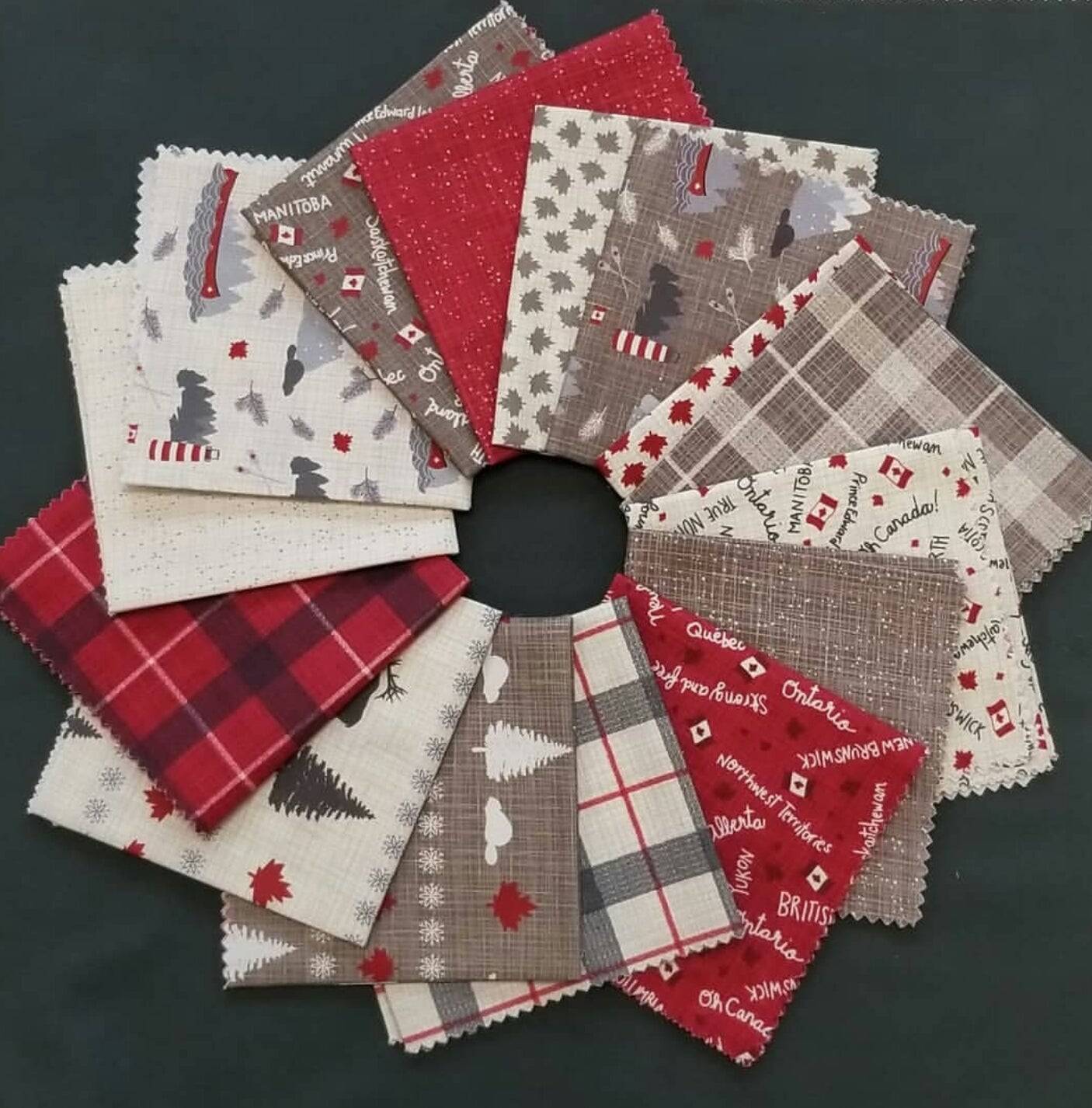 True North - Junior Charm Pack | Quilting Cottons