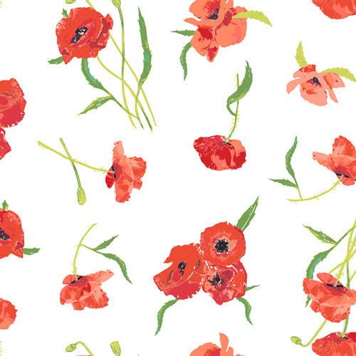 Floralish - Poppy Reflections | Knit