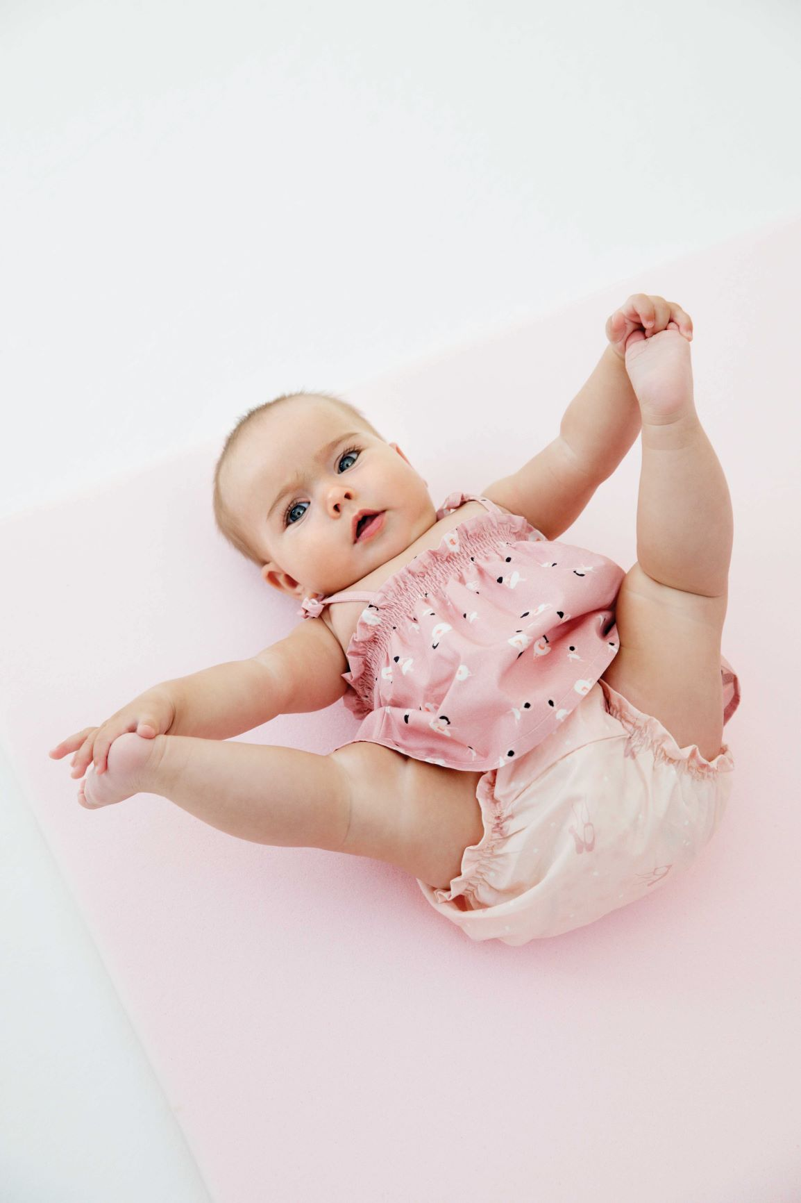 Dress, Diaper Cover & Ballet Shoes Pattern