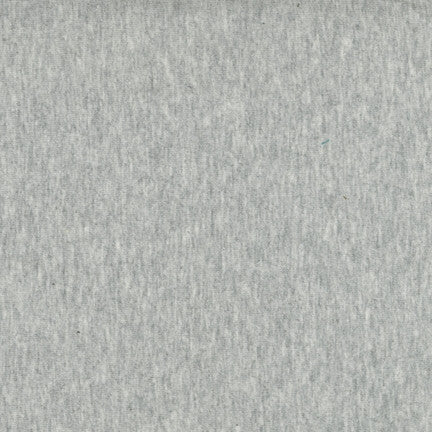 Laguna Jersey - Heather Grey - Thread Count Fabrics - Robert Kaufman
