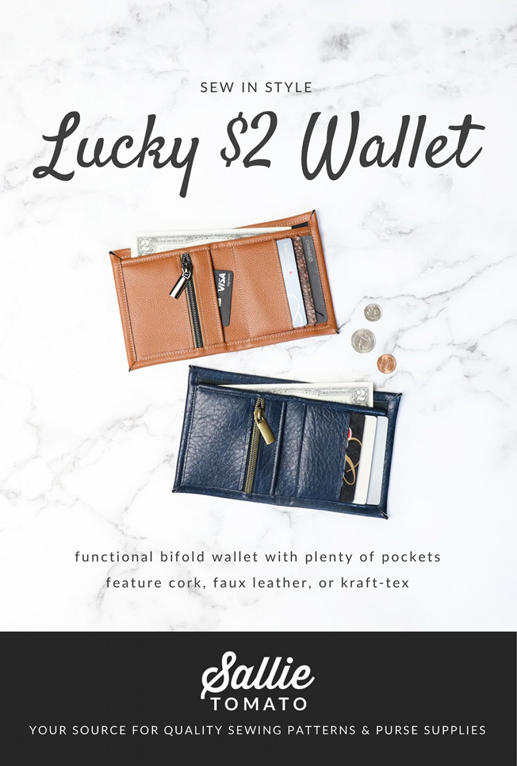 Lucky $2 Wallet Pattern