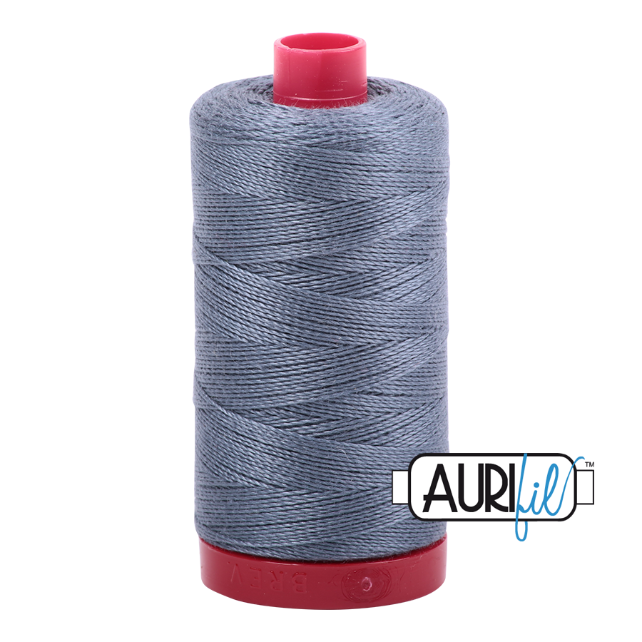 Aurifil 12wt - Dark Grey