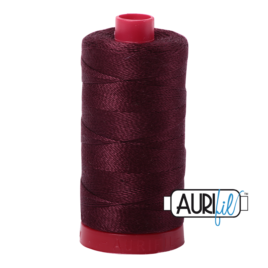 Aurifil 12wt - Dark Wine
