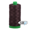 Aurifil 40wt - Very Dark Bark