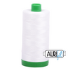 Aurifil 40wt - Natural White