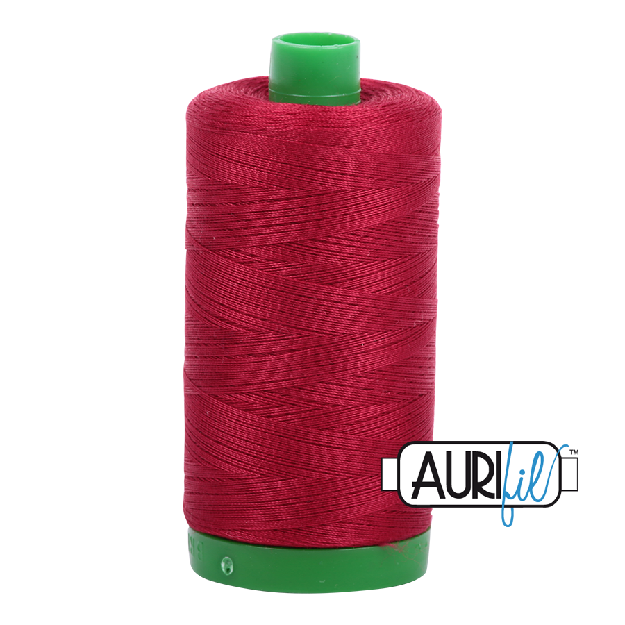 Aurifil 40wt - Red Wine