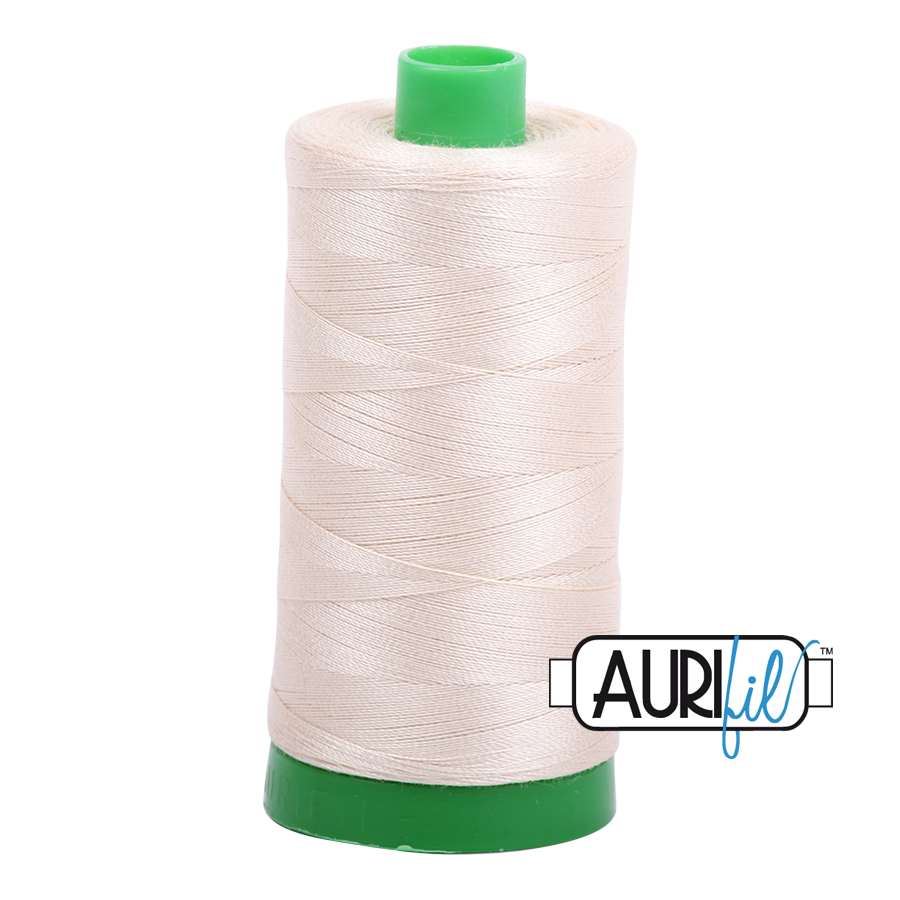 Aurifil 40wt - Light Beige