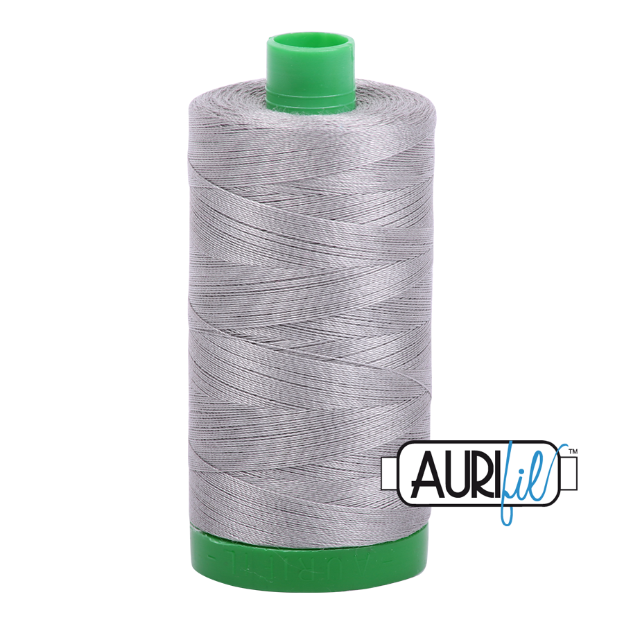 Aurifil 40wt - Stainless Steel