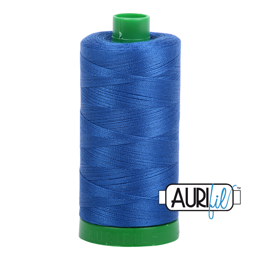 Aurifil 40wt - Medium Blue